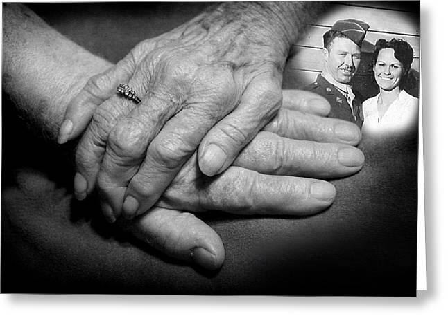 Greeting Card featuring the photograph Time On Our Hands by Shirley Heier
