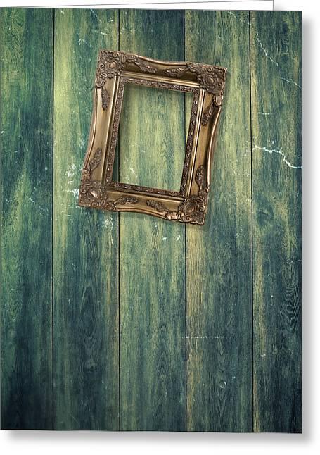 Hanging Frame Greeting Card by Amanda Elwell