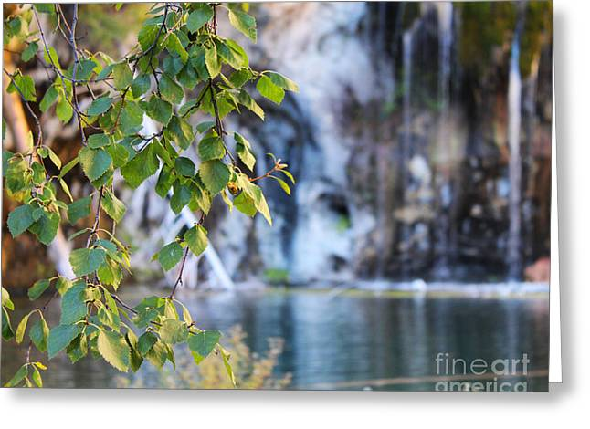 Hanging Lake 8x10 Crop Greeting Card