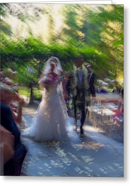Greeting Card featuring the photograph Happily Ever After by Alex Lapidus