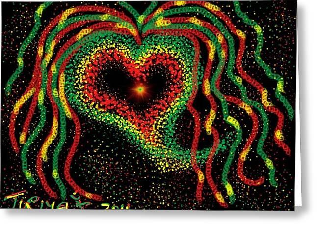 Happy Birthday Bob Marley Digital Art By Greg Liotta