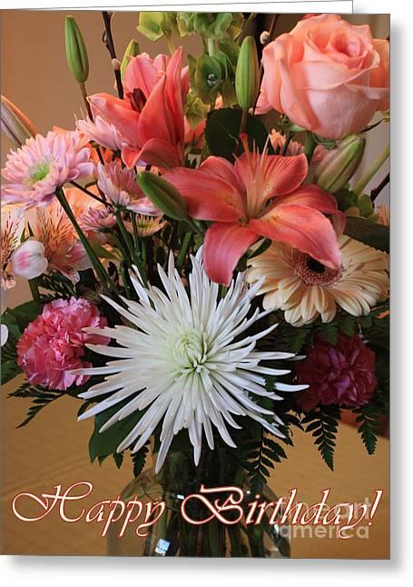 Happy Birthday Card Greeting Card by Carol Groenen