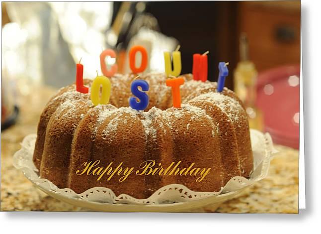 Happy Birthday I Greeting Card by Harold E McCray