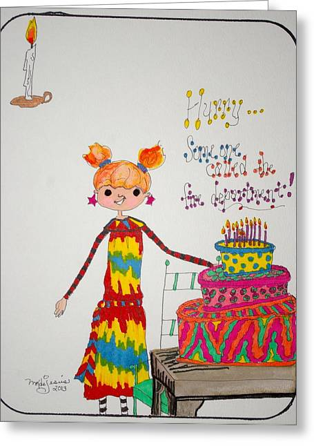 Happy Birthday Drawing By Mary Kay De Jesus