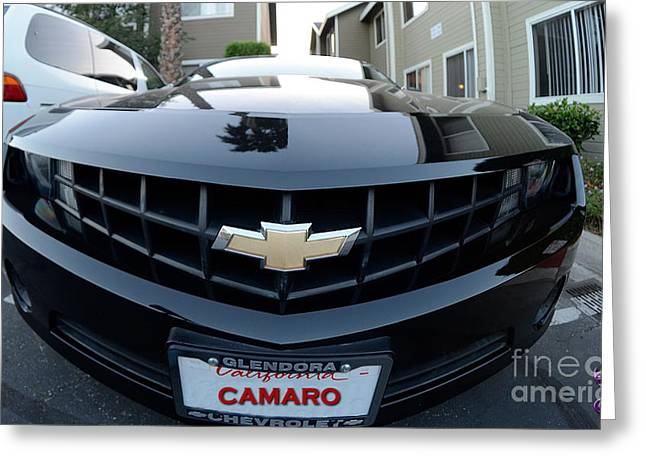 Greeting Card featuring the photograph Happy Camero by Clayton Bruster
