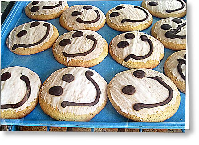 Happy Cookies Greeting Card