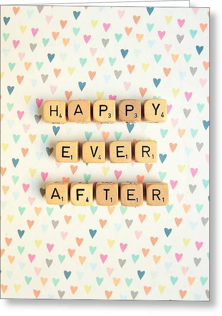 Happy Ever After Greeting Card by Mable Tan