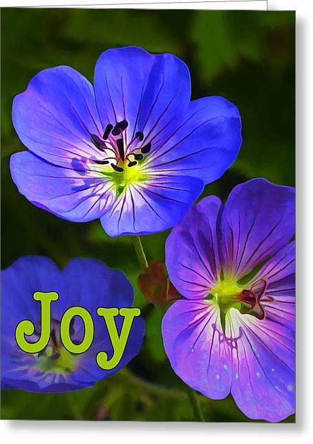 Joy 1 Greeting Card by ABeautifulSky Photography