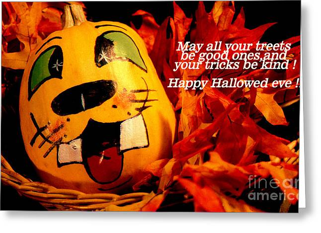 Greeting Card featuring the photograph Happy Hallowed Eve by Gary Brandes