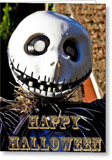 Happy Halloween Greeting Card by Tom Gari Gallery-Three-Photography
