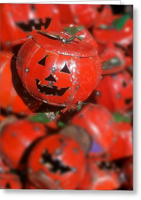Happy Halloween Greeting Card by Karyn Robinson