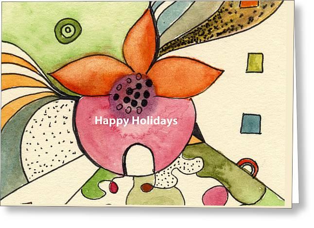 Happy Holidays-01 Greeting Card