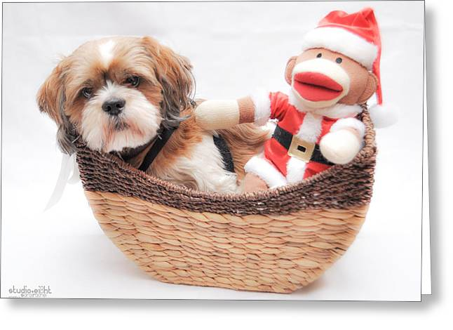 Happy Holidays Greeting Card by Sarai Rachel