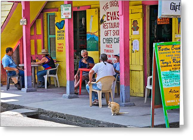 Happy Hour In Belize Greeting Card