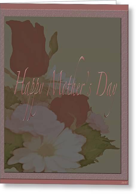 Happy Mothers Day  Greeting Card by Debra     Vatalaro
