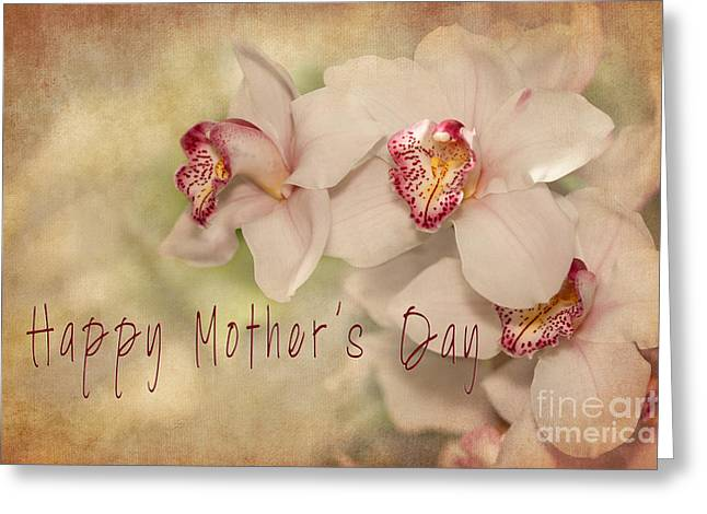 Happy Mothers Day Greeting Card by Beve Brown-Clark Photography