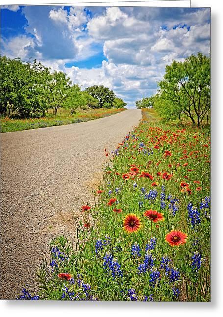 Happy Road Greeting Card