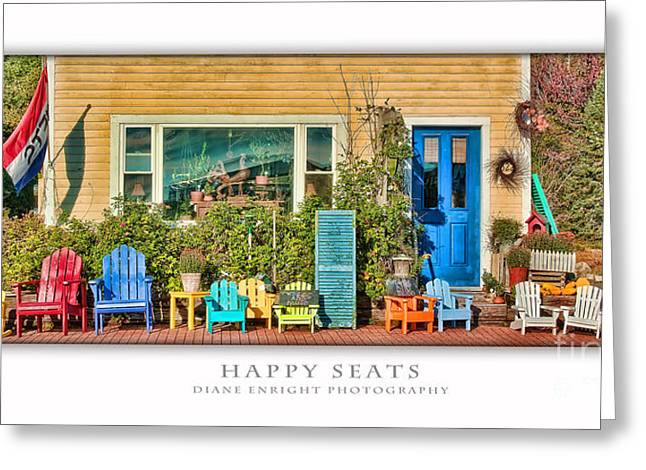 Happy Seats Greeting Card