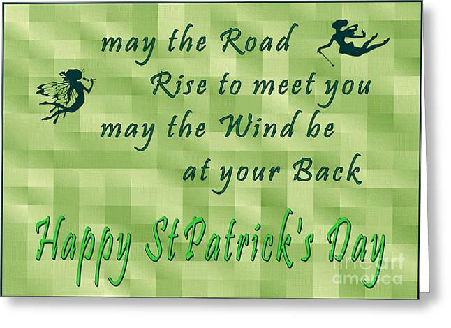 Happy St Pat's Greeting Card