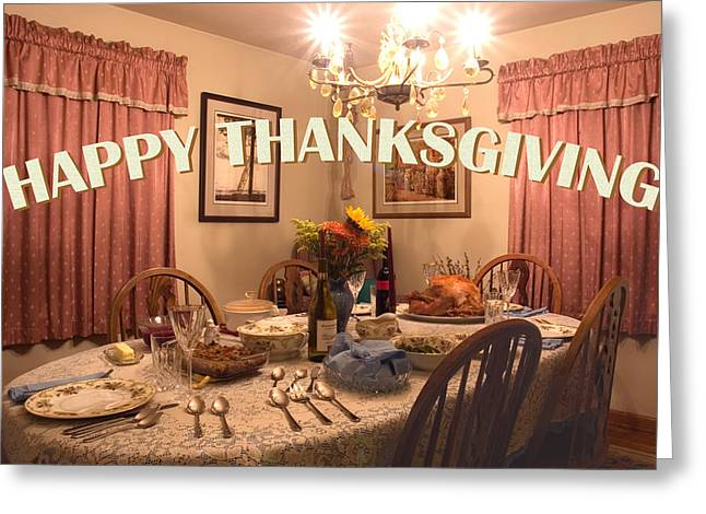 Happy Thanksgiving Card Greeting Card