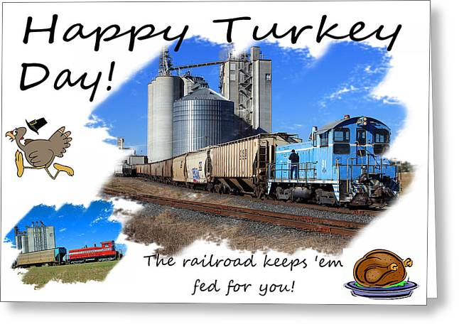 Happy Turkey Day Greeting Card by Joseph C Hinson Photography