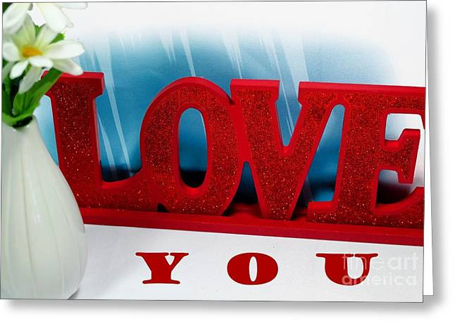 Happy Valentine's Day - Love - Forever2 Greeting Card by Barbara Griffin