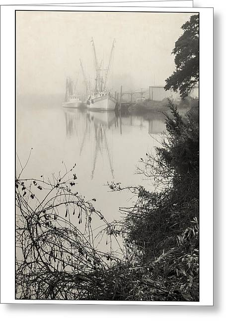 Harbor Fog No.3 Greeting Card