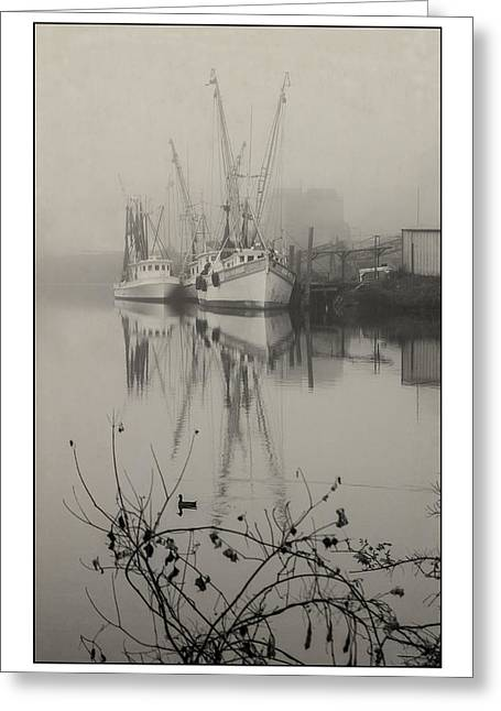 Harbor Fog No.4 Greeting Card