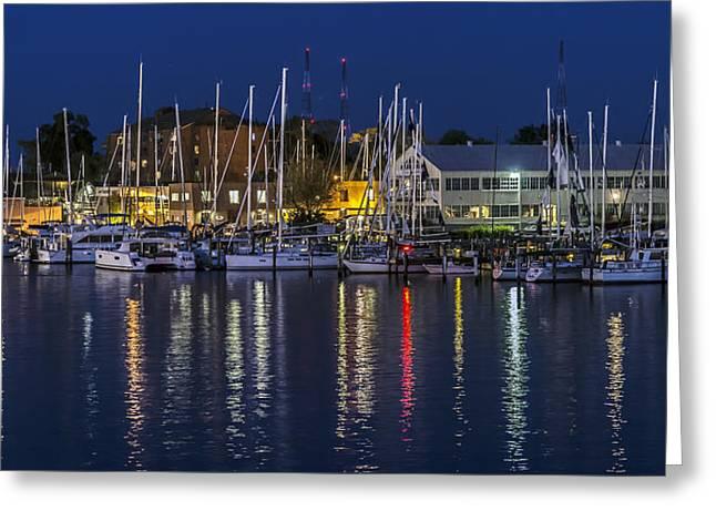 Harbor Reflections - Annapolis Greeting Card