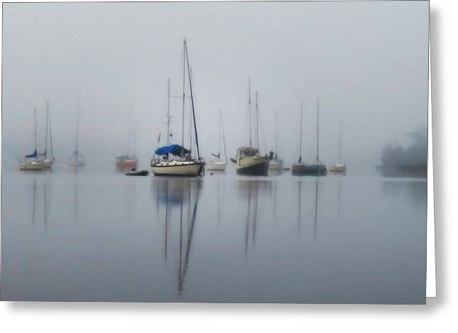 Harbor Rest Greeting Card by Deborah Smith
