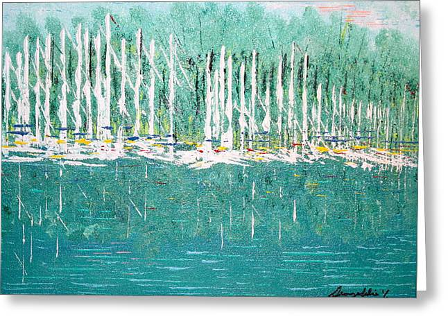 Harbor Shores Greeting Card