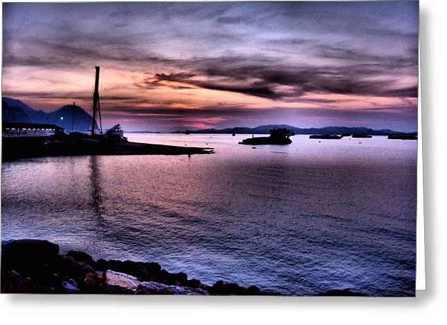 Harbor.. Greeting Card by Siti  Syuhada