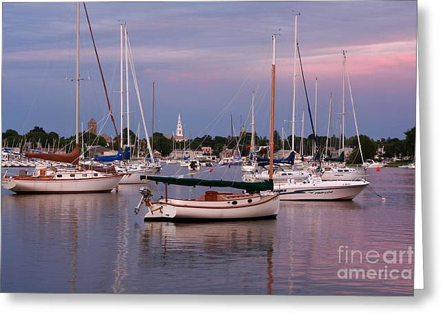 Harbor View Greeting Card