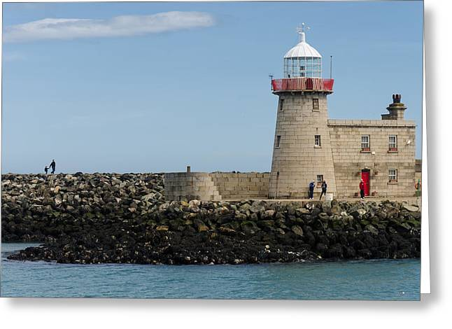 Harbour Entrance Greeting Card