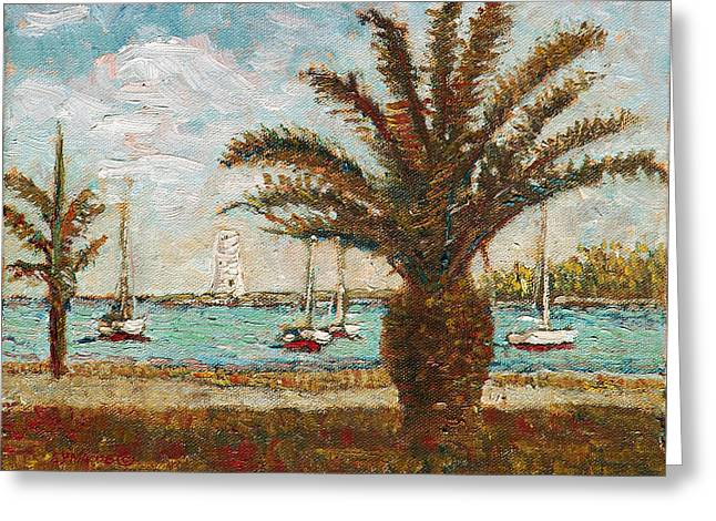 Harbour View - Nassau Greeting Card