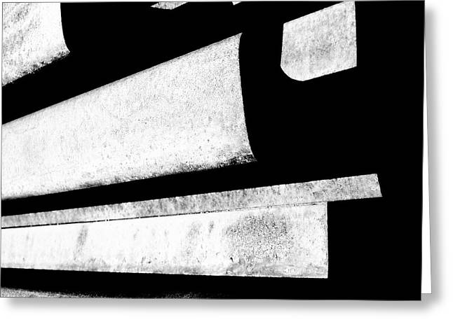 Hard Lines - Modern Abstracts Greeting Card