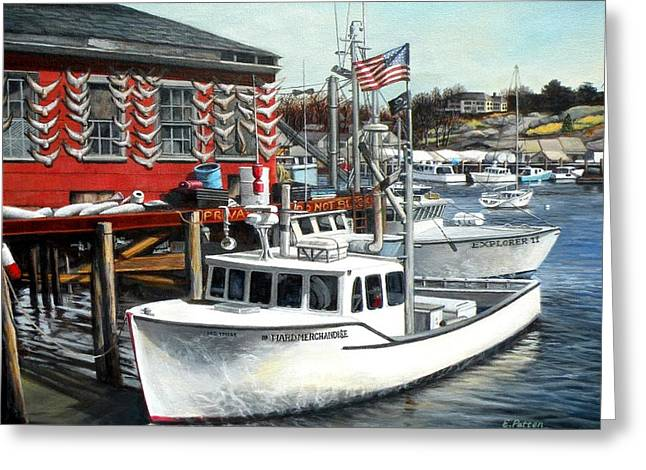 Hard Merchandise Rocky Neck Greeting Card