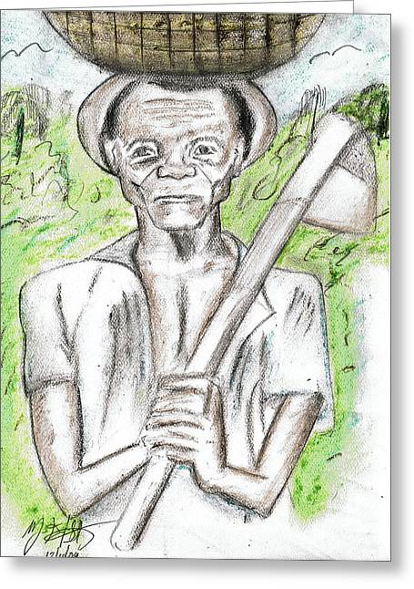 Hard Work Pays Off Greeting Card by HPrince De Artist