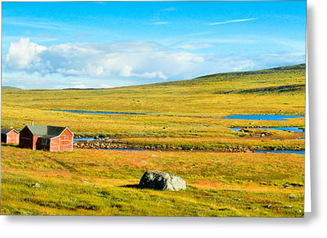 Hardangervidda In Norway Greeting Card by JR Photography