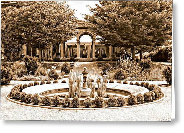 Harkness Estate Greeting Card by Marcia Lee Jones