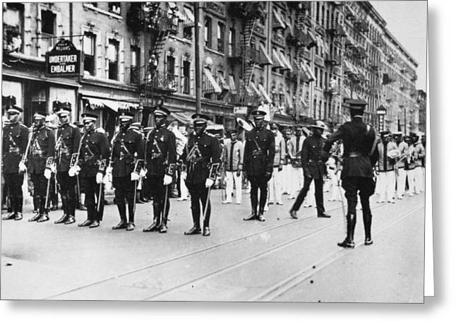 Harlem Parade, 1924 Greeting Card by Granger