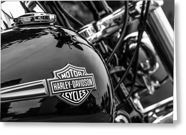 Harley Davidson. Greeting Card