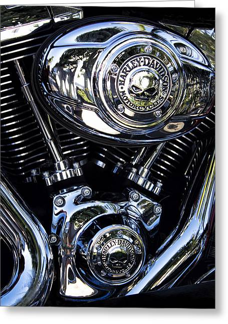 Harley Davidson Series 02 Greeting Card