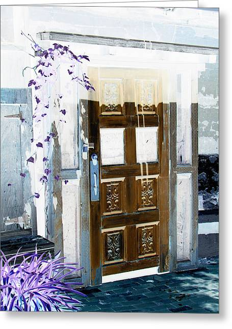 Harmony Doorway Greeting Card