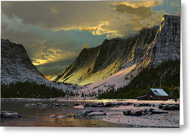 Harmony Of Light Greeting Card by Dieter Carlton