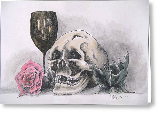 Harold And The Rose Greeting Card