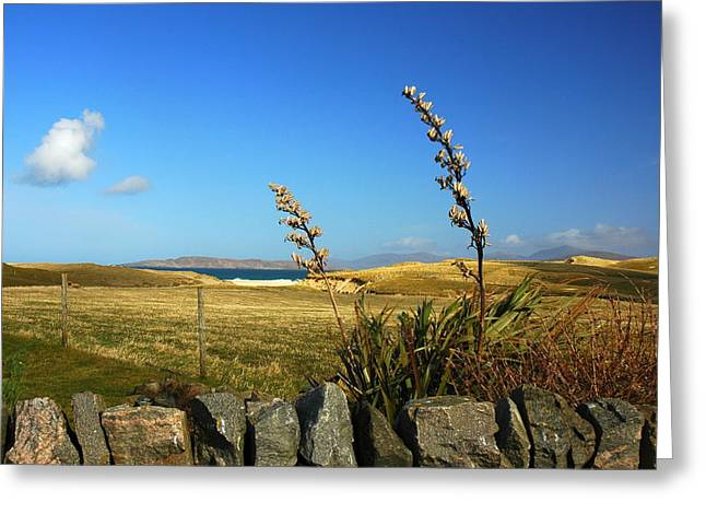 Harris Outer Hebrides Greeting Card by The Creative Minds Art and Photography