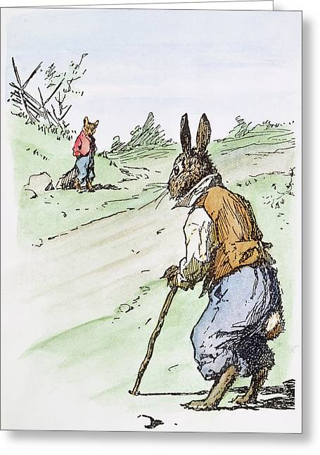 Harris Uncle Remus, 1895 Greeting Card by Granger
