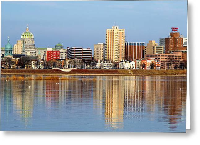 Harrisburg Reflections Greeting Card