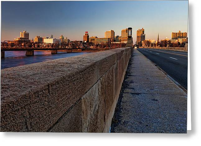 Harrisburg Skyline Greeting Card